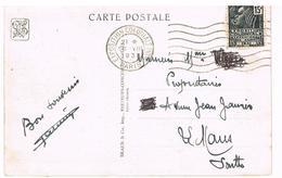 EXPOSITION COLONIALE INTERNATIONALE PARIS 1931. CACHET- TIMBRE. - Poststempel (Briefe)