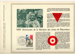 DOCUMENT PAC TRENTIEME ANNIVERSAIRE LIBERATION CAMPS DEDEPORTATION 27 9 1975 - 1970-1979