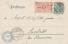 DR AK Düsseldorf Lichtfontaine EF Minr.70 Vignette Industrie- Gewerbe Und Kunstausstellung 1902 - Deutschland