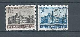 1954 - 25° ANNIV. FIRMA PATTI LATERANENSI - N. 733/34 (CATALOGO UNIFICATO) - 6. 1946-.. Republic