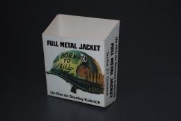 Ancienne Petite Boîte Collector Sortie De Full Metal Jacket De Stanley Kubrick - Cinema Advertisement