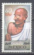Mexique Poste Aérienne YT N°300 Gandhi Neuf ** - México