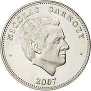 PRESIDENT- Nicolas Sarkozy Médaille Monnaie Cupronickel Diamètre:41mm Poids:31 G Edition:100 000 Exempl Tranche:canelée - France