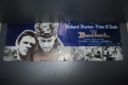 Dépliant De 4 Pages Panoramique Du Film BECKET Avec Richard BURTON D'après Jean ANOUILH - Werbetrailer