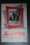 Manuel D'exploitation Le Jour D'Après D-DAY Débarquement WW2 39-45 - Cinema Advertisement