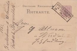 DR Ganzsache R3 Breitenbrunn In Sachsen 23.11.82 - Deutschland