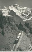 SUISSE ALPES SWIZTERLAND JUNGFRAUBAHN TRAIN CHEMIN DE FER CREMAILLERE INTERLAKEN - VS Valais