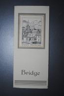 Ancien Carnet Publicitaire Grande Chartreuse Compte-point De Bridge Neuf - Alcohols