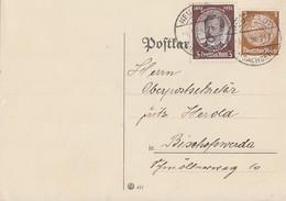 DR Karte Mif Minr.513,540 Neustadt 4.9.34 - Briefe U. Dokumente