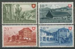 Svizzera Pro Patria 1948 Serie  N. 457-460 MNH Cat. € 10 - Nuovi