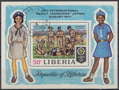 LIBERIA 1971 HB-55 USADO - Liberia