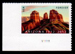 USA, 2012 Scott #4627, Arizona Statehood, Single, MNH, VF - Unused Stamps