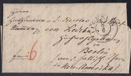 Brief K2 Coeslin 8.6.1841 Mit Inhalt Ansehen !!!!!!!!! - Deutschland