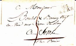 61 PAS De CALAIS - AIRE - 1810 - Marcofilia (sobres)