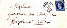 61 PAS De CALAIS - AUDRUICQ - 1866 - Marcophilie (Lettres)