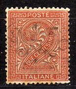 ITALIEN 1863 - MiNr: 24 Ziffern - Used - 1861-78 Vittorio Emanuele II