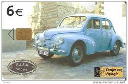 TARJETA COCHE RENAULT 4/4 DEL 11/03 Y TIRADA 501200 (CAR) - Voitures