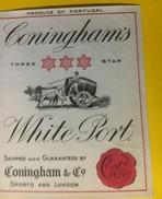 3052 - Portugal White Port Cuningham's - Etiketten