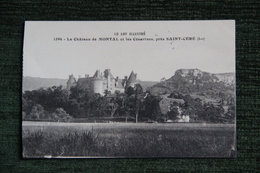 Le Château De MONTAL Et Les Césarines Près Saint Céré, Cpa Adressée à Madame DE MONTAL. - Saint-Céré