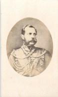 PHOTO CDV XIXeme : L'EMPEREUR ALEXANDRE II EMPEREUR DE RUSSIE FAMILLE ROMANOV RUSSIA TZAR EMPEROR TSAR - Célébrités