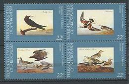 185 MICRONESIE 1985 - Yvert 29/32 - Oiseau (Audubon) - Neuf ** (MNH) Sans Trace De Charniere - Micronésie