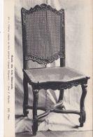Mobilier -  Chaise Cannée En Bois Naturel - Epoque Régence - Bellas Artes