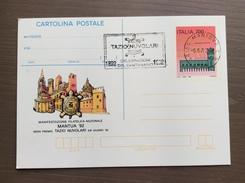 Cartolina Postale Mantua '92 Con Targhetta Celebrazioni Del Centenario Tazio Nuvolari Mantova 5-6-1992 - Grand Prix / F1
