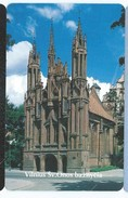 LIETUVA 5 - 100u VILNIUS CHURCH EGLISE Neuve URMET MINT Lituanie - Lituania