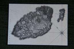 Map Of GOZO And COMINO By Chevalier Louis De BOISGELIN, 1802 - Malte