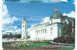 LIETUVA 8 - 50u VILNIUS CHURCH 2 Neuve URMET MINT Lituanie - Lituania