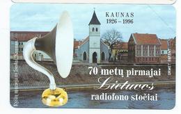LIETUVA 16 - 25u KAUNAS RADIOFONO Neuve URMET MINT Lituanie - Lituania