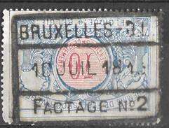 _7S-160: BRUXELLES - Q.L. / / FACTAGE N° 2 : 70ct - 1895-1913