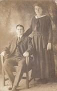 Oude Foto Poserend Koppel (pk31899) - Couples