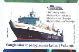 LIETUVA 24 - 50u Ship Boat Bateau Neuve URMET MINT Lituanie - Lituania