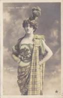 France Grande Bretagne Beautiful Girl In Costume 1907 Real Photo - Bretagne
