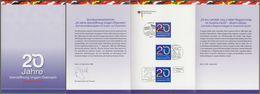 """Bund + Ungarn + Österreich: Minister Card, Ministerkarte Mi-Nr. 2759: """" Grenzöffnung """" Joint Issue Gemeinschaftsausgabe - Covers & Documents"""