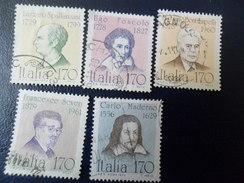 ITALIA  1979  UOMINI ILLUSTRI 170  SERIE USATI - 1946-.. République