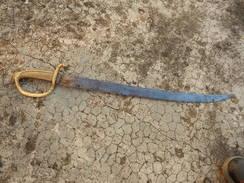 D´origine Française/Sabre D'infanterie/Briquet An XI/Bel état/Original/A Voir! - Knives/Swords