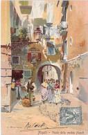 ITALIA Italie - NAPOLI Naples : Vicolo Della Vecchia Napoli - CPA Illustrée - - Napoli