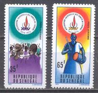 Sénégal Poste Aérienne YT N°142/143 Déclaration Universelle Des Droits De L'homme Neuf ** - Sénégal (1960-...)