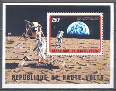 Haute Volta Bloc-feuillet YT N°5F Exploration De L'espace Neuf ** - Haute-Volta (1958-1984)