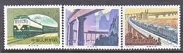 PRC  1527-9  *  TRAINS  BRIDGES - 1949 - ... People's Republic