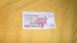 BILLET DE 100 FRANCS / HONDERD FRANK DATE ?. / BELGIQUE N°22109724270. - Belgio