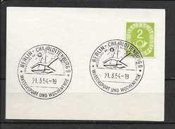 LOTE 1158  ///  ALEMANIA FEDERAL 1951   YVERT Nº: 9  CON MATASELLO ESPECIAL - Usados