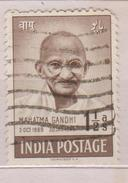 India Mi 187 First Anniversary Of Independence (Gandhi Mourning Issue) - 1948 - India