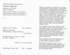 Ivona Meeuw (1918-1992) - Images Religieuses