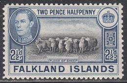 FALKLAND ISL.       SCOTT NO. 87    MINT HINGED     YEAR  1938 - Falkland Islands