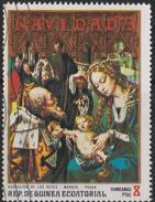 GQ Equatorial Guinea Mi 301 Christmas - Adoration Of The Magi By Mabuse - 1973 - Equatoriaal Guinea