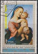 GQ Equatorial Guinea Mi 39 Christmas - Madonna By Raffael - 1972 - Equatoriaal Guinea
