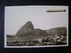 ZEPPELIN - OVERLAPPING THE RIO DE JANEIRO (BRAZIL) - Avions
